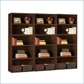 Ameriwood 5 Shelf Wall Bookcase in Resort Cherry