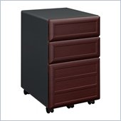 Ameriwood by Dorel Pursuit Vertical File Cabinet in Cherry and Gray