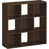 Ameriwood 9 Cube Storage in Resort Cherry