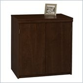 Ameriwood 2-Door Storage Cabinet in Resort Cherry