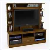 Ameriwood Home Entertainment Center in Resort Cherry