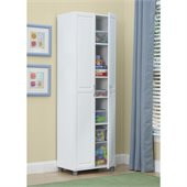 Ameriwood System Build 24 Cabinet in White Aquaseal