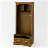 Ameriwood Entryhall Unit with Drawer in Resort Cherry