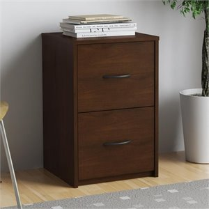 Ameriwood Home 2 Drawer Filing Cabinet in Resort Cherry