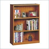 Ameriwood Industries 3 Shelf Standard Wood Bookcase in Manor Oak