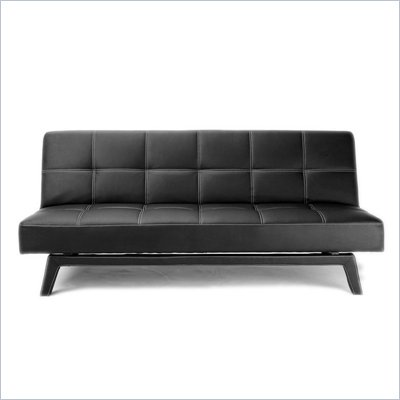 DHP Delaney Delaney Sleeper Sofa in Black