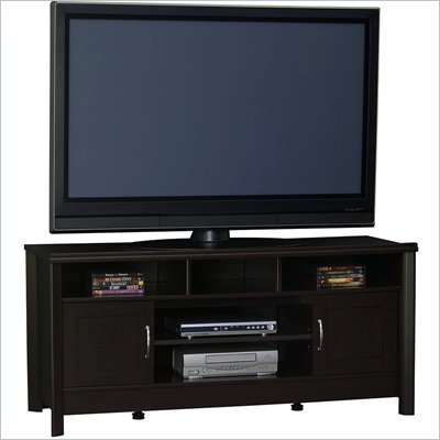 Ameriwood 50 Inch&#160;Flat&#160;Panel&#160;TV&#160;Stand Black Forest Finish