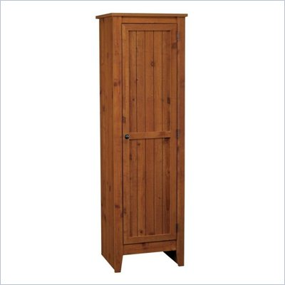 Ameriwood Industries Single Door Kitchen Pantry in Old Fashioned Pine
