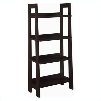 Altra Mission Shaker Ladder Bookcase in Espresso