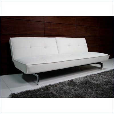 DHP Revolution Belle Futon in White