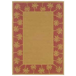 "Oriental Weavers Lanai 8'6"" x 13' Machine Woven Rug in Be..."
