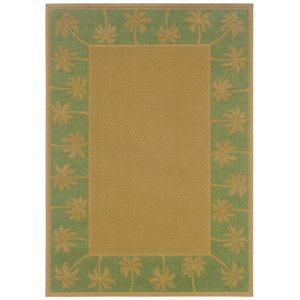 "Oriental Weavers Lanai 2'5"" x 4'5"" Machine Woven Rug in B..."