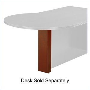 Rudnick Contemporary Bullet Shaped Desk