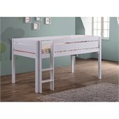 Canwood Whistler Junior Loft Bunk Bed in White