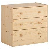 Canwood Whistler 3 Drawer Chest in Natural