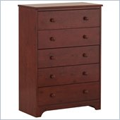 Canwood 5 Drawer Chest in Cherry