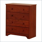Canwood 4 Drawer Chest in Cherry