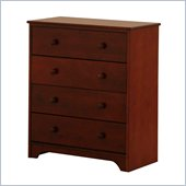 Canwood 4 Drawer Chest in Espresso