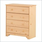 Canwood 4 Drawer Chest in Natural