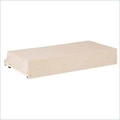 Canwood Trundle Bed in White
