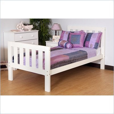 Canwood Alpine II  Twin Bed in White