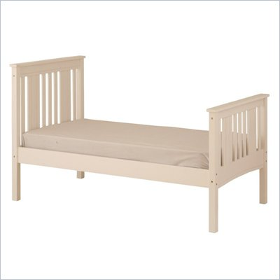 Canwood Base Camp Twin Bed in White