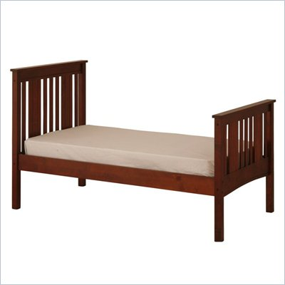 Canwood Base Camp Twin Bed in Cherry
