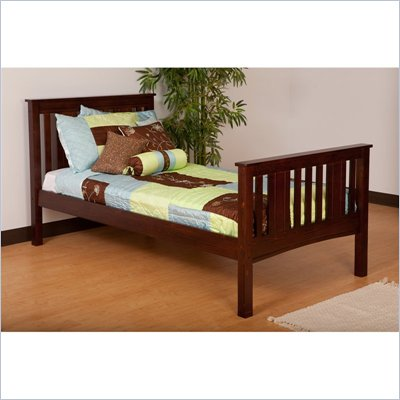 Canwood Base Camp Twin Bed in Espresso