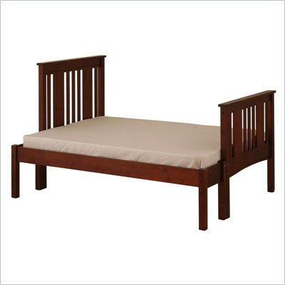 Canwood Base Camp Double Bed in Cherry