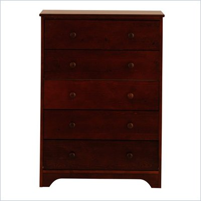 Canwood 5 Drawer Chest in Espresso