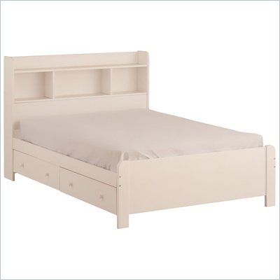 Canwood Mates Double Bed in White