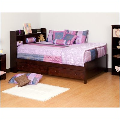 Canwood Mates Double Bed in Espresso