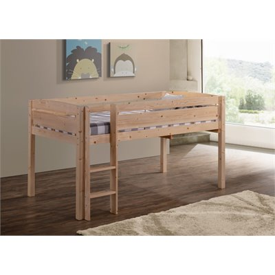 Canwood Whistler Junior Loft Bunk Bed in Natural