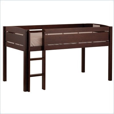 Canwood Whistler Junior Loft Bunk Bed in Espresso