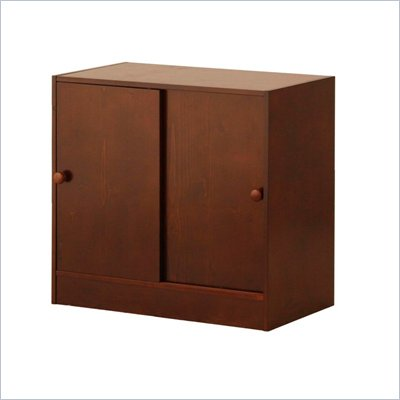 Canwood Whistler 2 Door Cupboard in Espresso