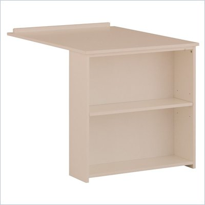 Canwood Whistler Slide Out Desk in White