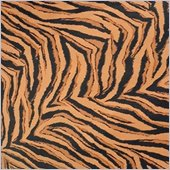 Comfort Magic Memory Foam Lounge Bag Tiger Print Replacement Cover