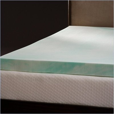 Comfort Magic Enviro-Green 4 Inch Memory Foam Mattress Topper
