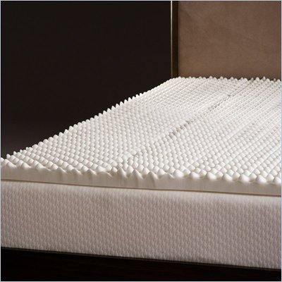 Comfort Magic Highloft 2 Inch Memory Foam Mattress Topper