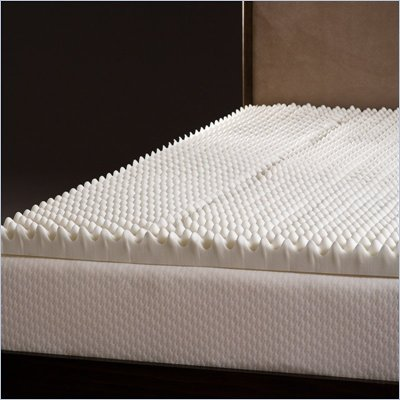 Comfort Magic Highloft 3 Inch Memory Foam Mattress Topper