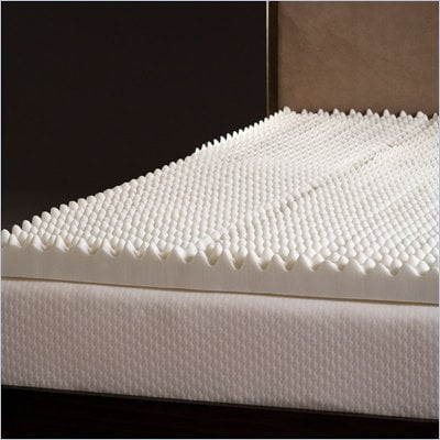 Comfort Magic Highloft 4 Inch Memory Foam Mattress Topper