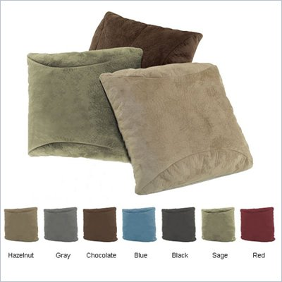 Comfort Magic Memory Foam Accent Throw Pillow (Set of 2)