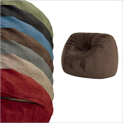 Comfort Magic Large Memory Foam Lounge Bag Replacement Cover