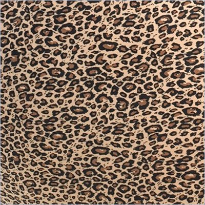 Comfort Magic Memory Foam Lounge Bag Leopard Print Replacement Cover
