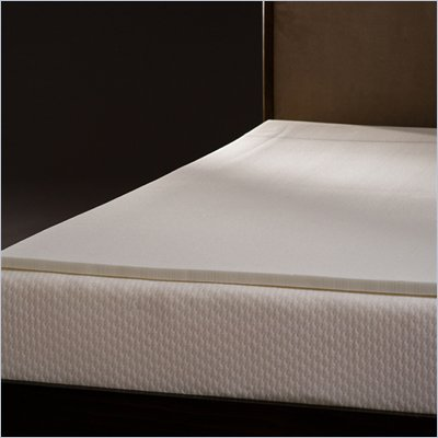 Comfort Magic Mem-Cool 1 Inch Memory Foam Mattress Topper