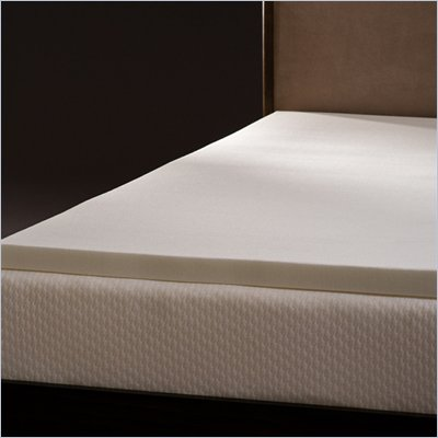 Comfort Magic Mem-Cool 2 Inch Memory Foam Mattress Topper