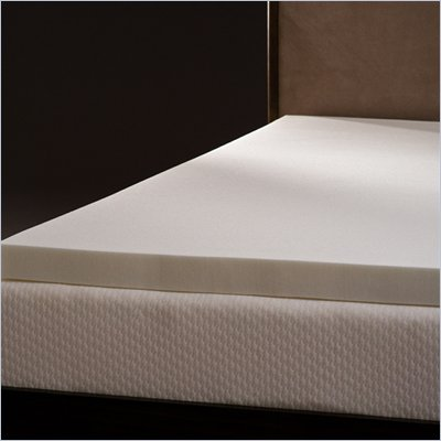 Comfort Magic Mem-Cool 3 Inch Memory Foam Mattress Topper