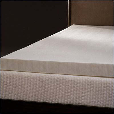 Comfort Magic Mem-Cool 4 Inch Memory Foam Mattress Topper