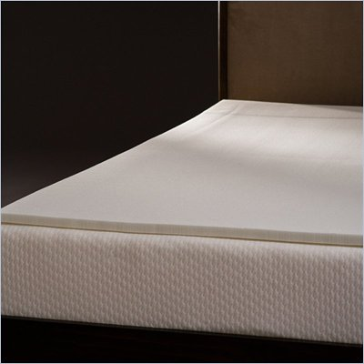 Comfort Magic Ultra Soft 1-inch Memory Foam Mattress Topper