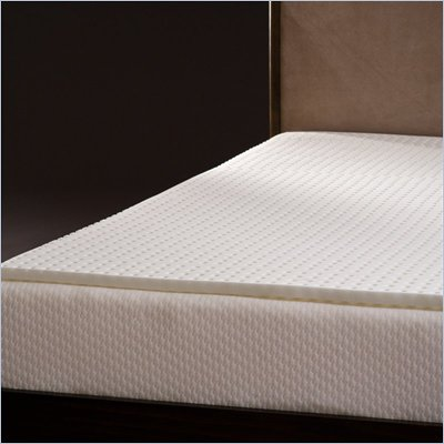 Comfort Magic Ventilated 1-inch Memory Foam Mattress Topper